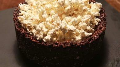 Photo of Chokoladepopcorn-skål – Den spiselige skål!