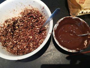 Chokoladepopcorn-skål, Chokoladepopcorn-skål – Den spiselige skål!