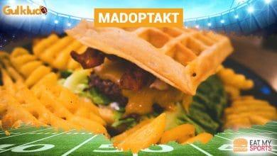 Super Bowl mad 2019 Madoptakt opskrift dessert, Madoptakt: Super Bowl